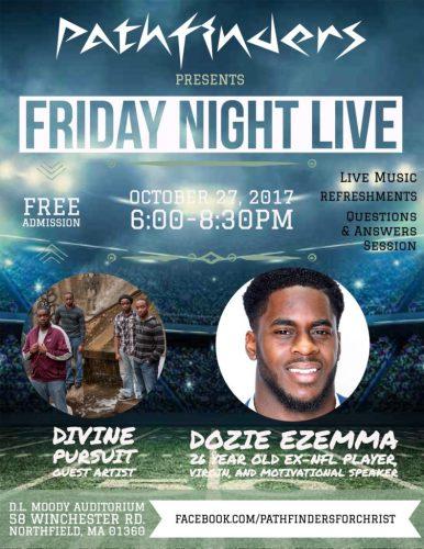New England youth gathering Dozie Ezemma at The Moody Center