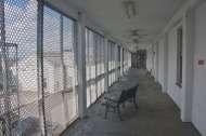 Hospital corridor at Central State Hospital. Milledgeville, Georgia