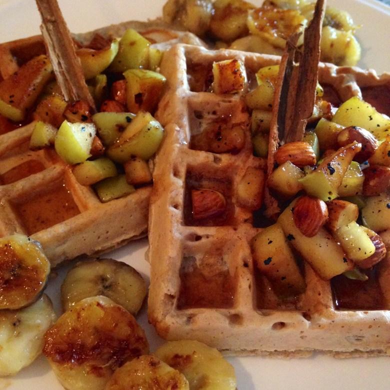 Waffles de otoño