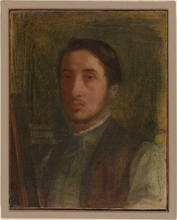 Edgar Degas Self Portrait