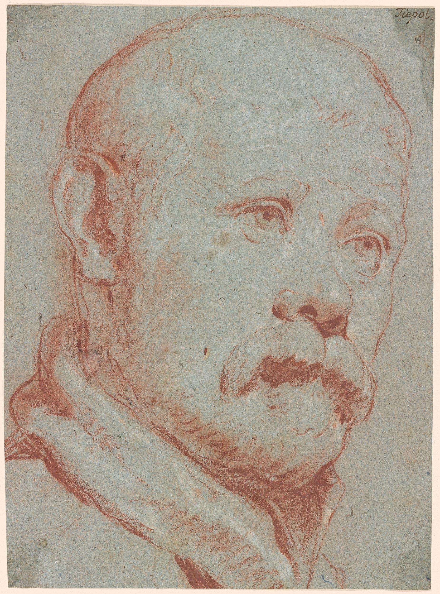 Giovanni Battista Tiepolo  Study after Alessandro