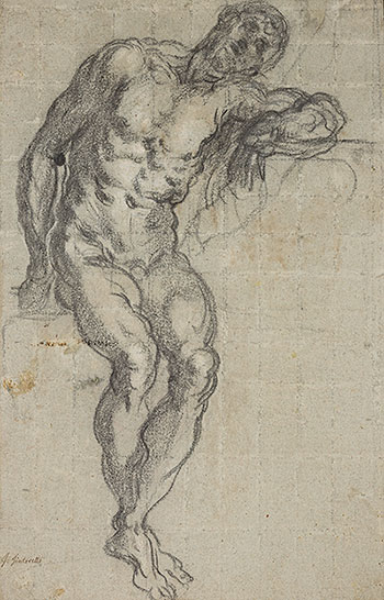 drawing in tintoretto s