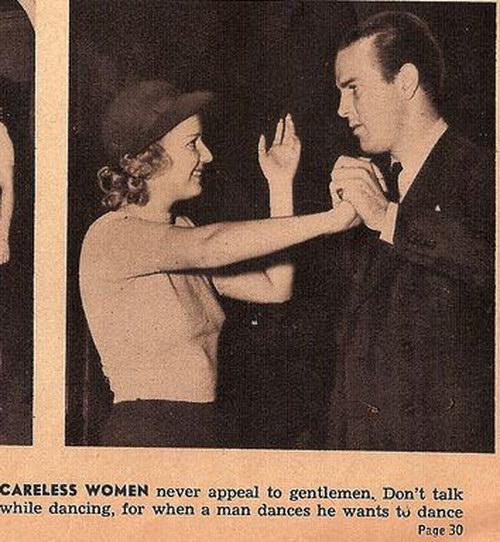 Mulheres descuidadas