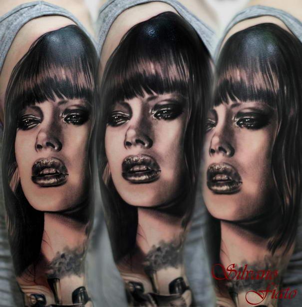 Realistic Tattoos By Silvano Fiato (10)