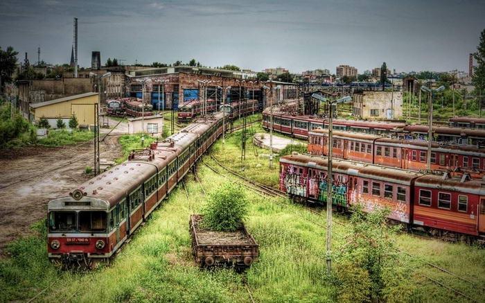 Depósito de metrô