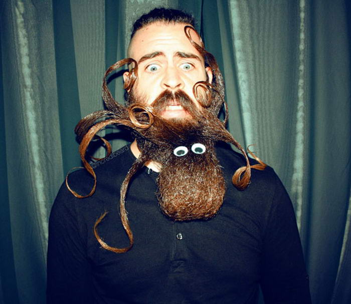 epic beard sculptures
