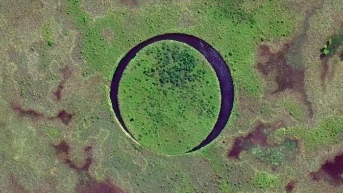 Ilha de olho flutuante