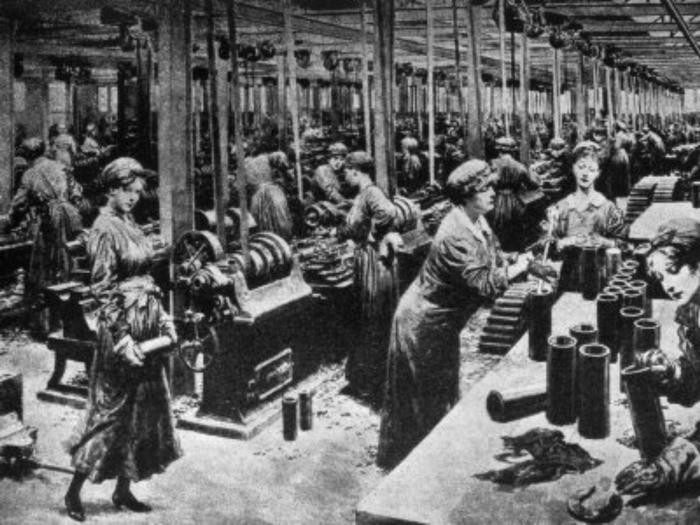 Papéis das mulheres na Primeira Guerra Mundial