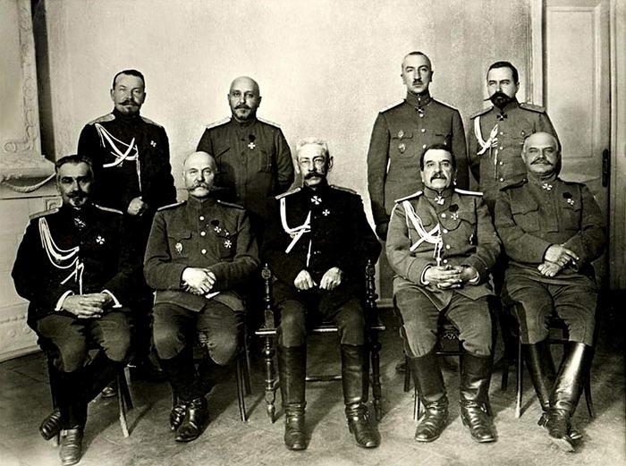 Generais russos WW1