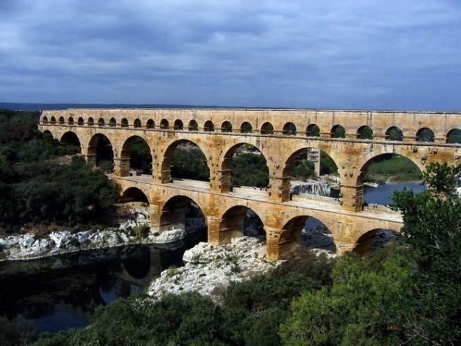 The Pont du Gard Bridge
