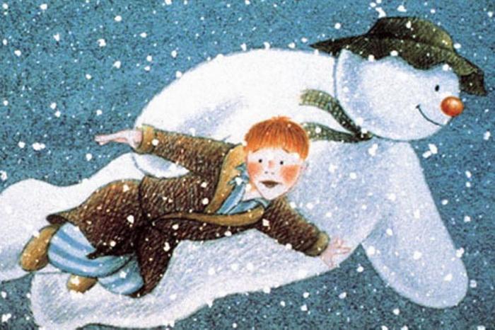 O boneco de neve