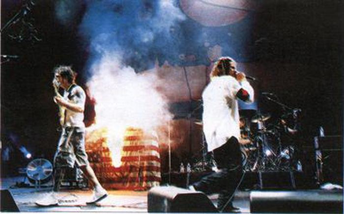 Woodstock 99 raiva contra a máquina