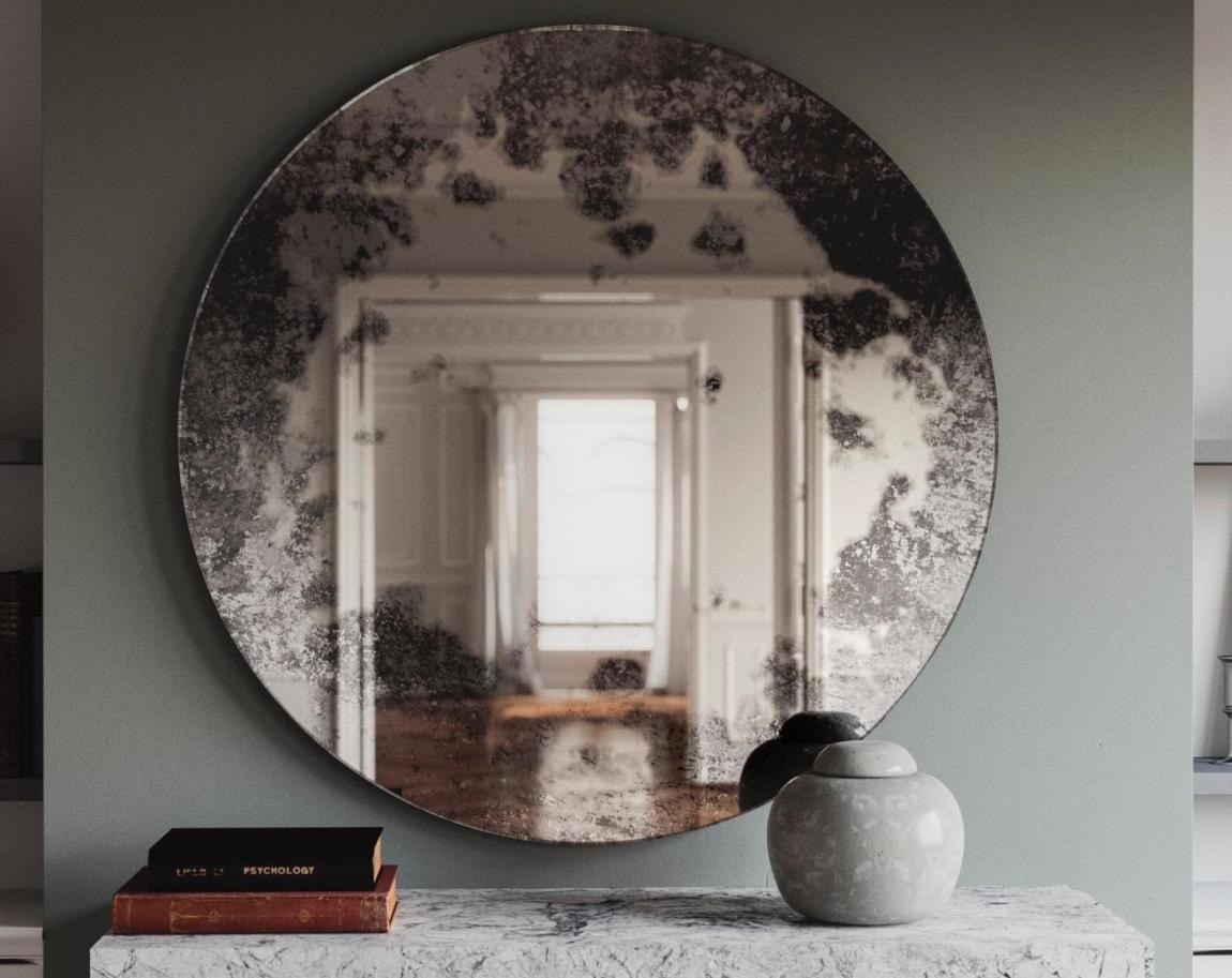 Golden Trumeau Mirror
