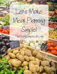 Meal planning doesn't have to be hard and time consuming. You can save money, reduce waste, and know what's for dinner tonight. We'll make it simple!