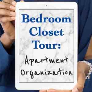 Apartment Bedroom Closet Tour