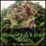 Massaged Kale and Green Salad