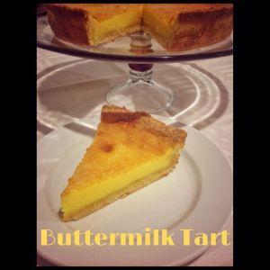 Buttermilk Tart