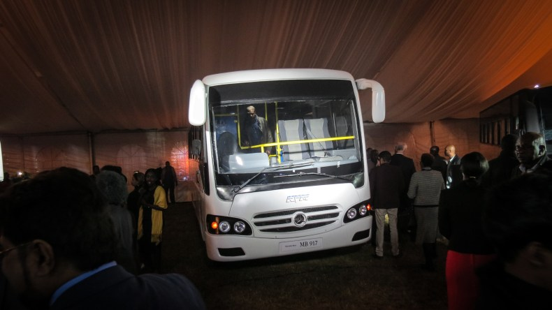 Mercedes-Benz launches buses made in Kenya – THE MOTIE GUY
