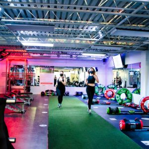 The Motion Room Main Gym