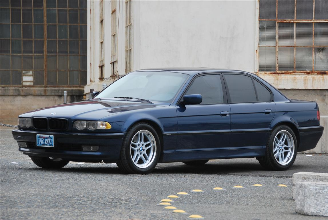 hight resolution of e38 2001 740i sport biarritz blue with oyster interior blue dash and carpets 92 5k mi