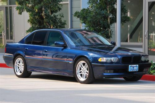 small resolution of e38 2001 740i sport biarritz blue with oyster interior blue dash and carpets 92 5k mi