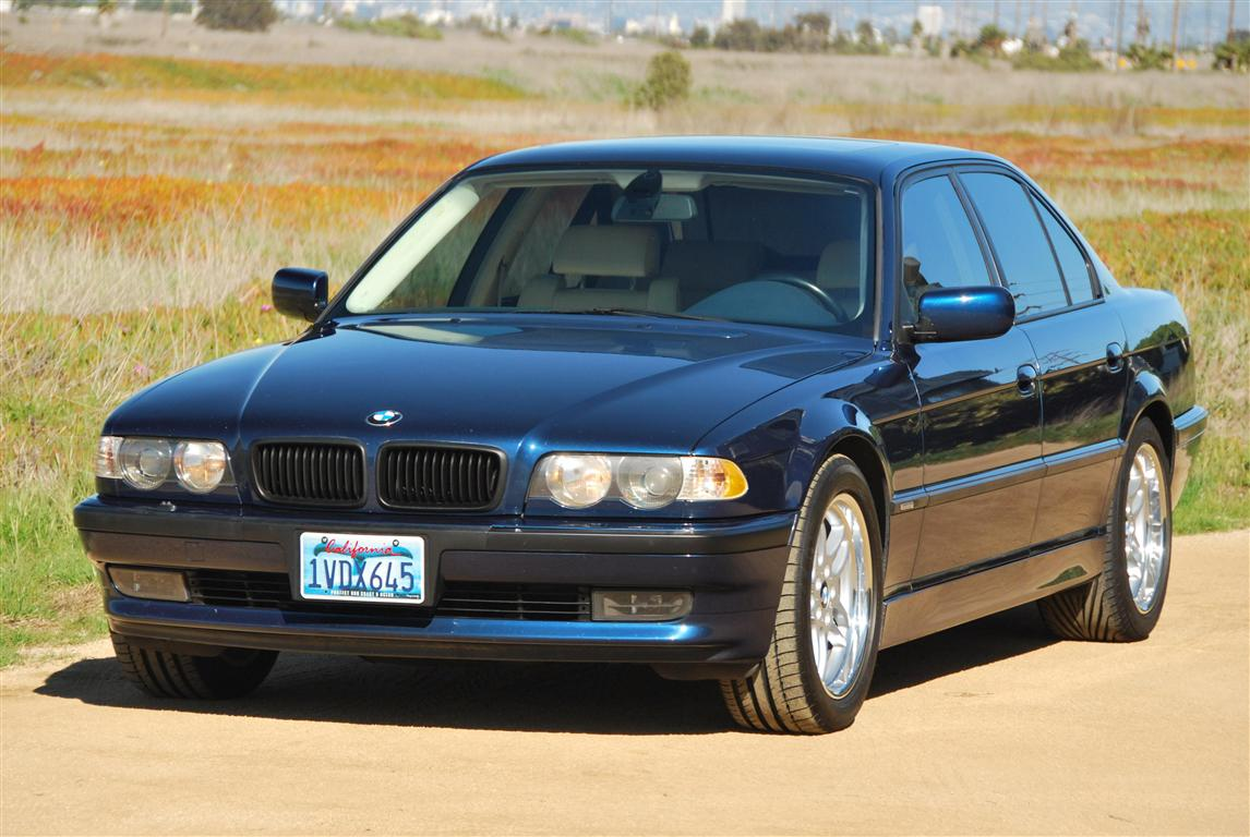 hight resolution of 2001 740i sport biarritz blue with oyster interior blue dash and carpets 92 5k mi