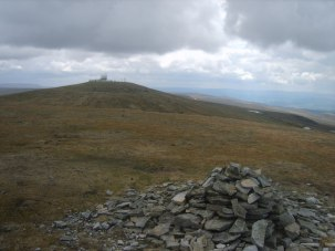 The summit of Little Dun Fell photo courtesy of Hill Bagging.co.uk : http://www.hill-bagging.co.uk/mountaindetails.php?rf=2709