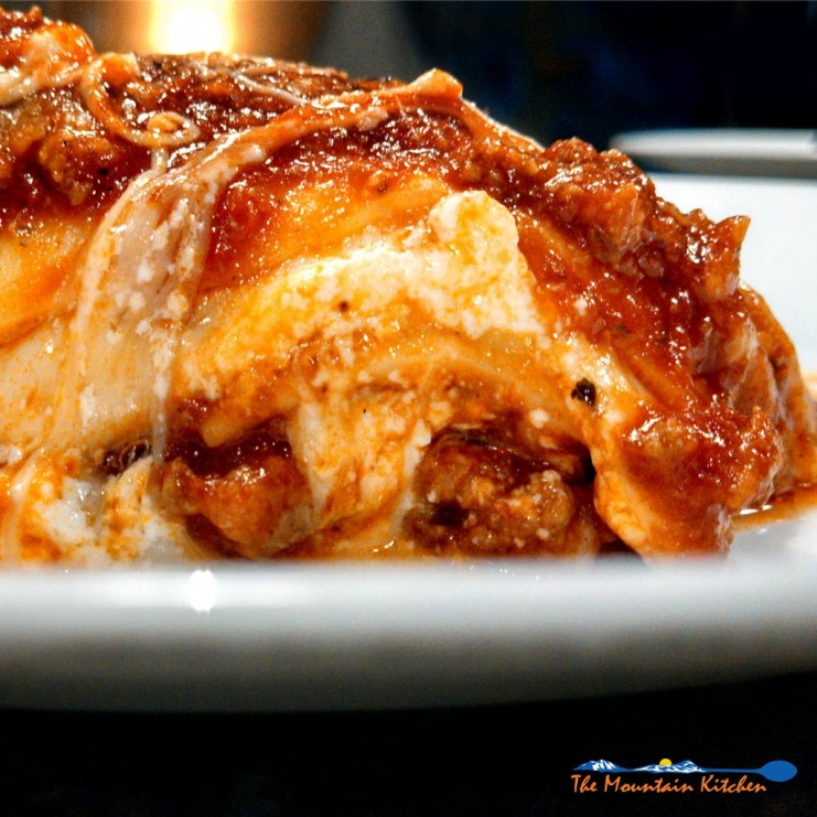 David calls me the Blonde Italian mainly because of my lasagna. It is one of my favorite Italian dishes to make. Let me walk you through the process. | TheMountainKitchen.com