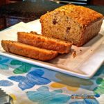 This homemade zucchini bread is moist and nutty with hints of cinnamon and chopped pecans. Perfect for a snack or even as breakfast. Yummy! | TheMountainKitchen.com