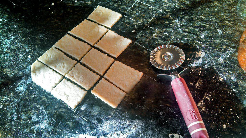 Fresh homemade saltine crackers simple to make, only take 30 minutes and require 4 ingredients and are so much better than store bought! Try this recipe! | TheMountainKitchen.com
