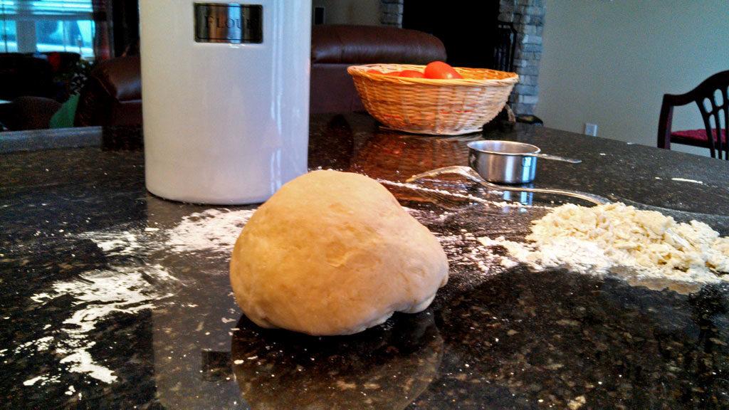 ball of pasta dough
