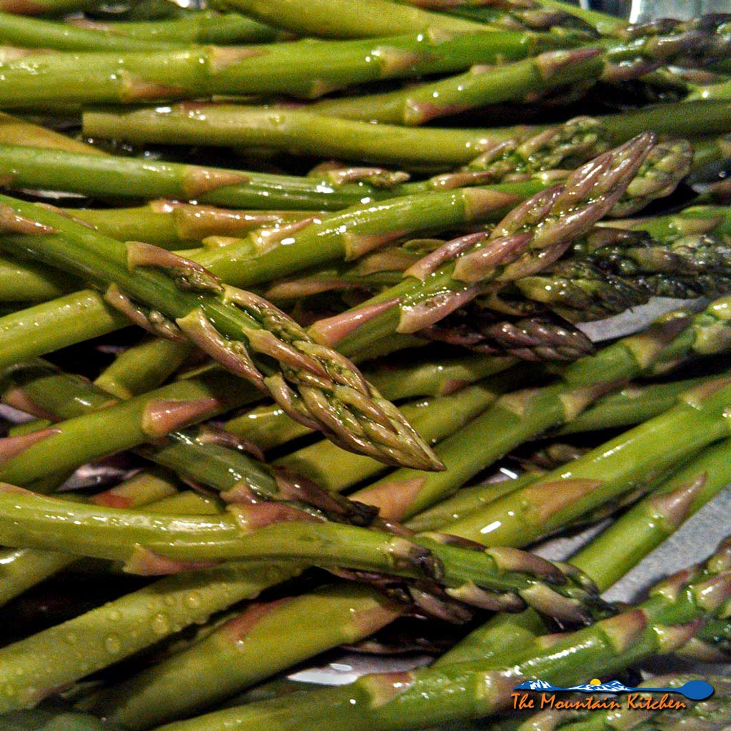 Oven-roasted asparagus are coated in olive oil, lemon zest, and parmesan cheese and roasted until tender, is one of my favorite asparagus recipes. YUMMY!