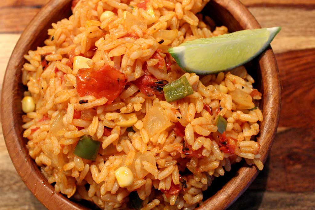 Mexican ricein bowl