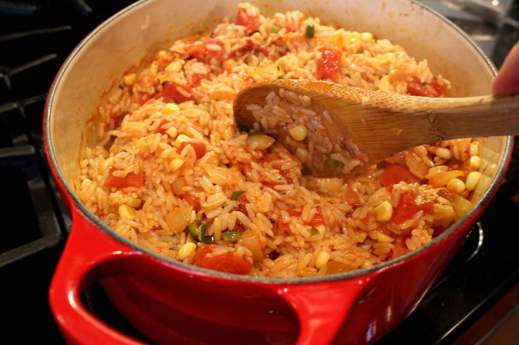 Mexican Rice ready to eat