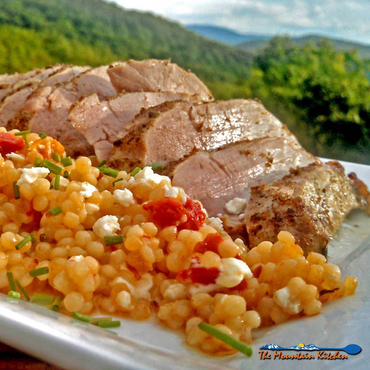This tender Greek pork ribeye roast takes you on a journey to the Mediterranean. Basted and roasted in Greek Dressing, this pork is a flavorful dish!
