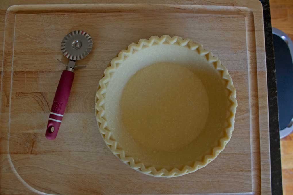 pie crust ready to be filled