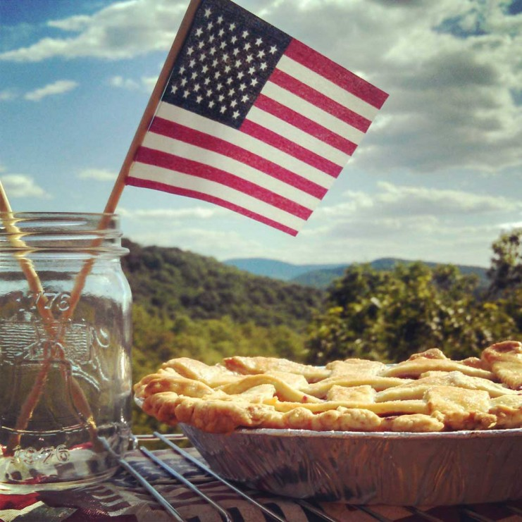Was it July 4th Already? David HRH and I spent our July 4th weekend at home on the mountain. Find out how we celebrated and what we cooked! | TheMountainKitchen.com