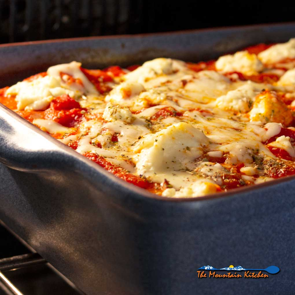 No-Noodle Vegetable Lasagna {A Meatless Monday Recipe