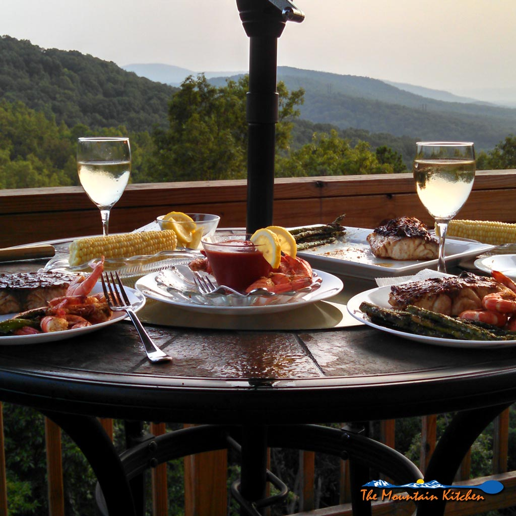 """What can I say, we love us some seafood!! We started our """"Staycation"""" a couple of weeks ago by indulging in our some of our favorites. 