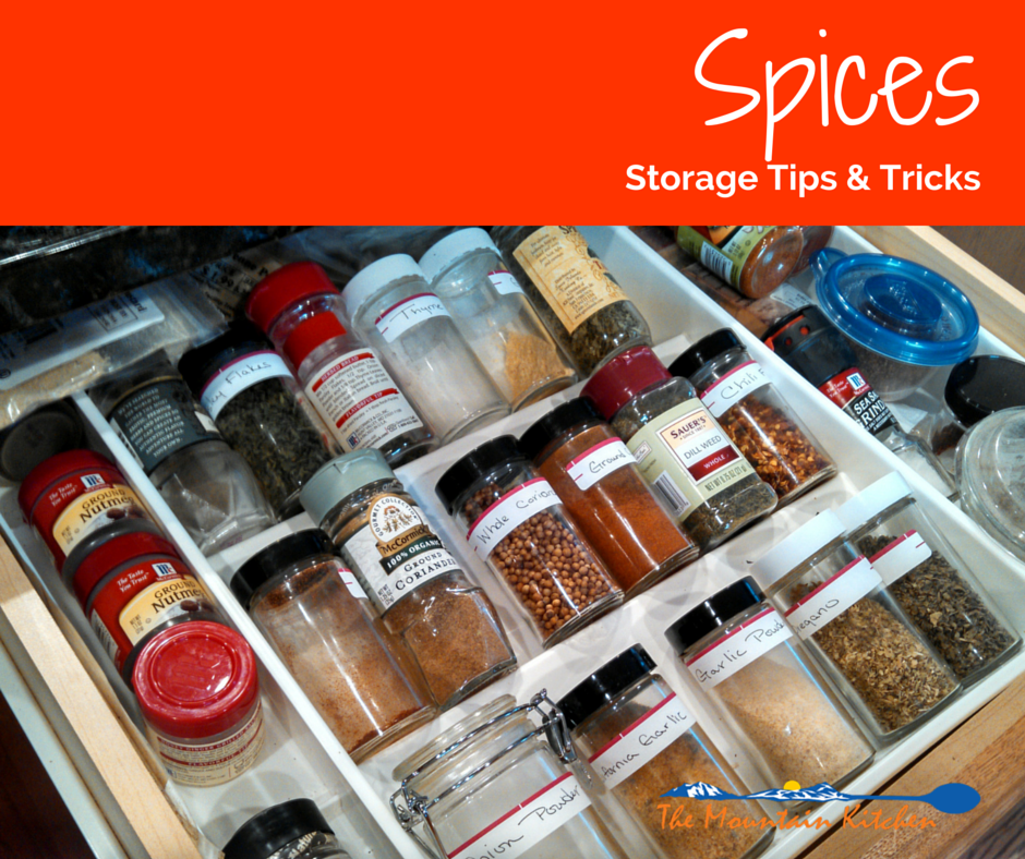 Dried herbs and spices don't last forever! They can lose their flavor over time. Learn the best way to store and organize them.