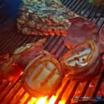Recipes for preparing grilled red snapper and bacon wrapped scallops. The only seasoning needed was freshly squeezed lemon juice and Al's Stolen Fish Sauce. | TheMountainKitchen.com