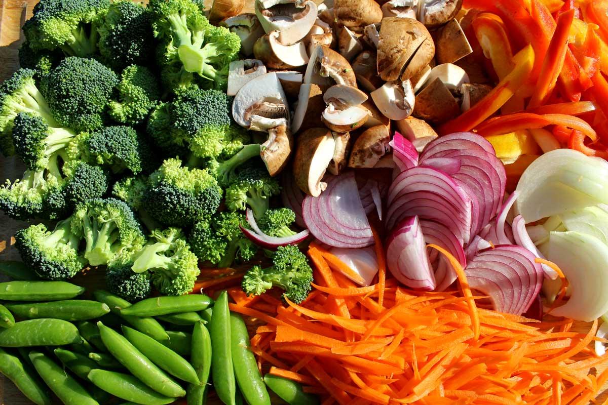 ingredients to make stir-fry