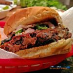 Pepper Jack Black Bean Burger