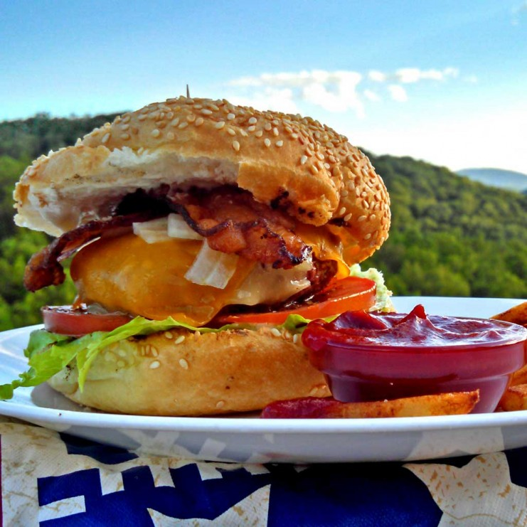 There is nothing more American than a perfectly formed, grill mastered, juicy, succulent, hamburger. Here are 10 steps to help you build a better burger. | TheMountainKitchen.com