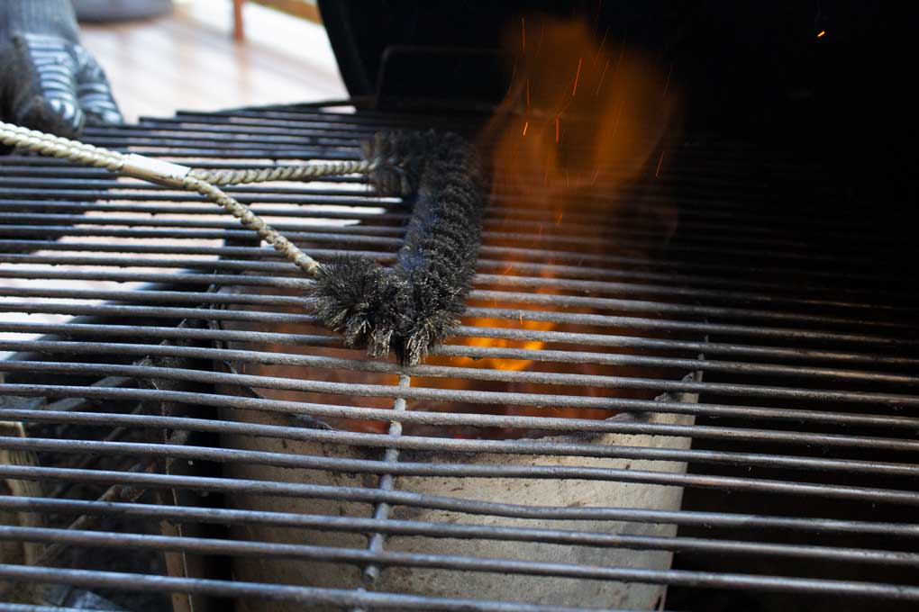 grill brush for grill
