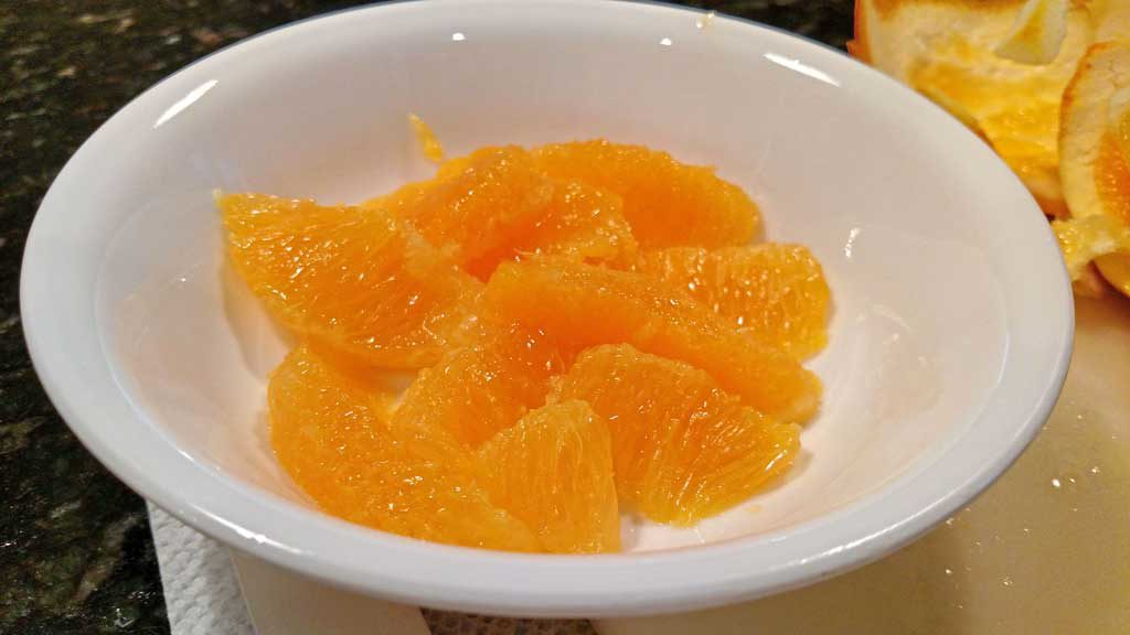 Do you know how to supreme an orange? To supreme means to remove the skin, pith, membranes, and seeds of a citrus fruit and separate its wedges | TheMountainKitchen.com