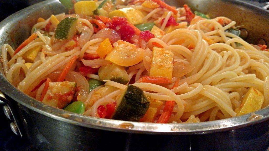 pasta primavera ready to eat