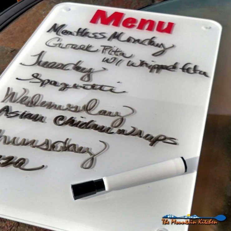 Dry erase boards are not just for your home office, they also come in pretty handy in your kitchen. Here are two uses I have for them in my kitchen... | TheMountainKitchen.com