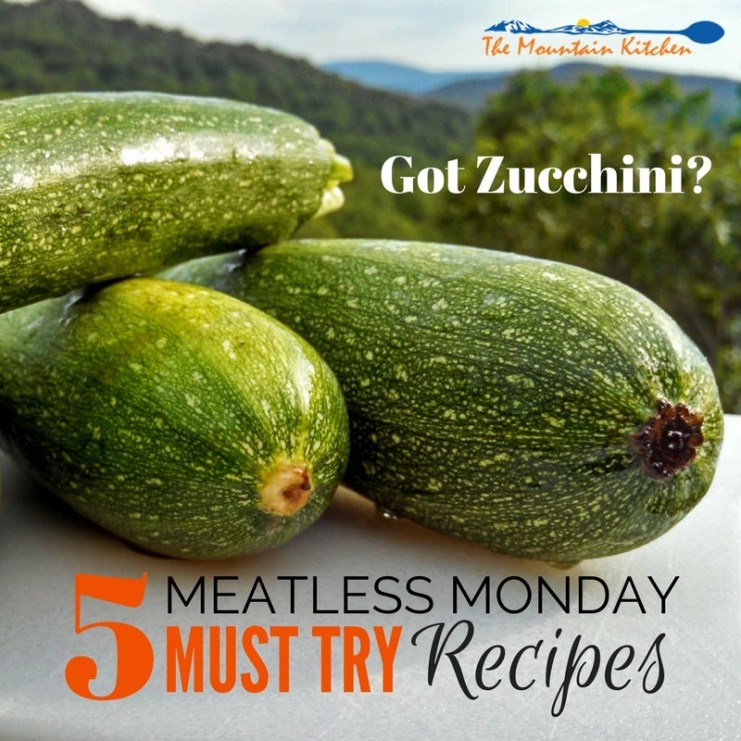 Do you have zucchini running out of your ears from your summer garden? Are you running out of recipe ideas? Here are 5 MUST TRY Zucchini recipes... | TheMountainKitchen.com
