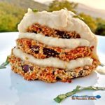 This healthy eggplant parmesan with cauliflower Alfredo sauce is so delicious! The sauce uses very little butter and milk. Baking it cuts out calories too! | TheMountainKitchen.com